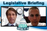 Congressional leaders address ATSSA members during Legislative Briefing & Virtual Fly-In