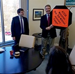 Rep. Wittman tours ATSSA HQ